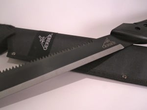 Gerber Machete and Sheath