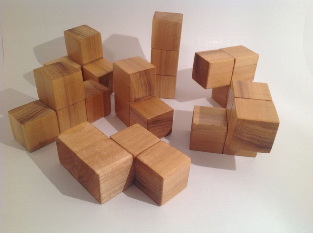 Soma Cube Pieces