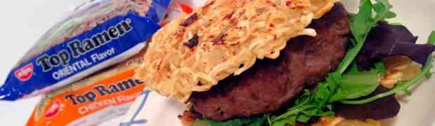 Ramen Burger Panini