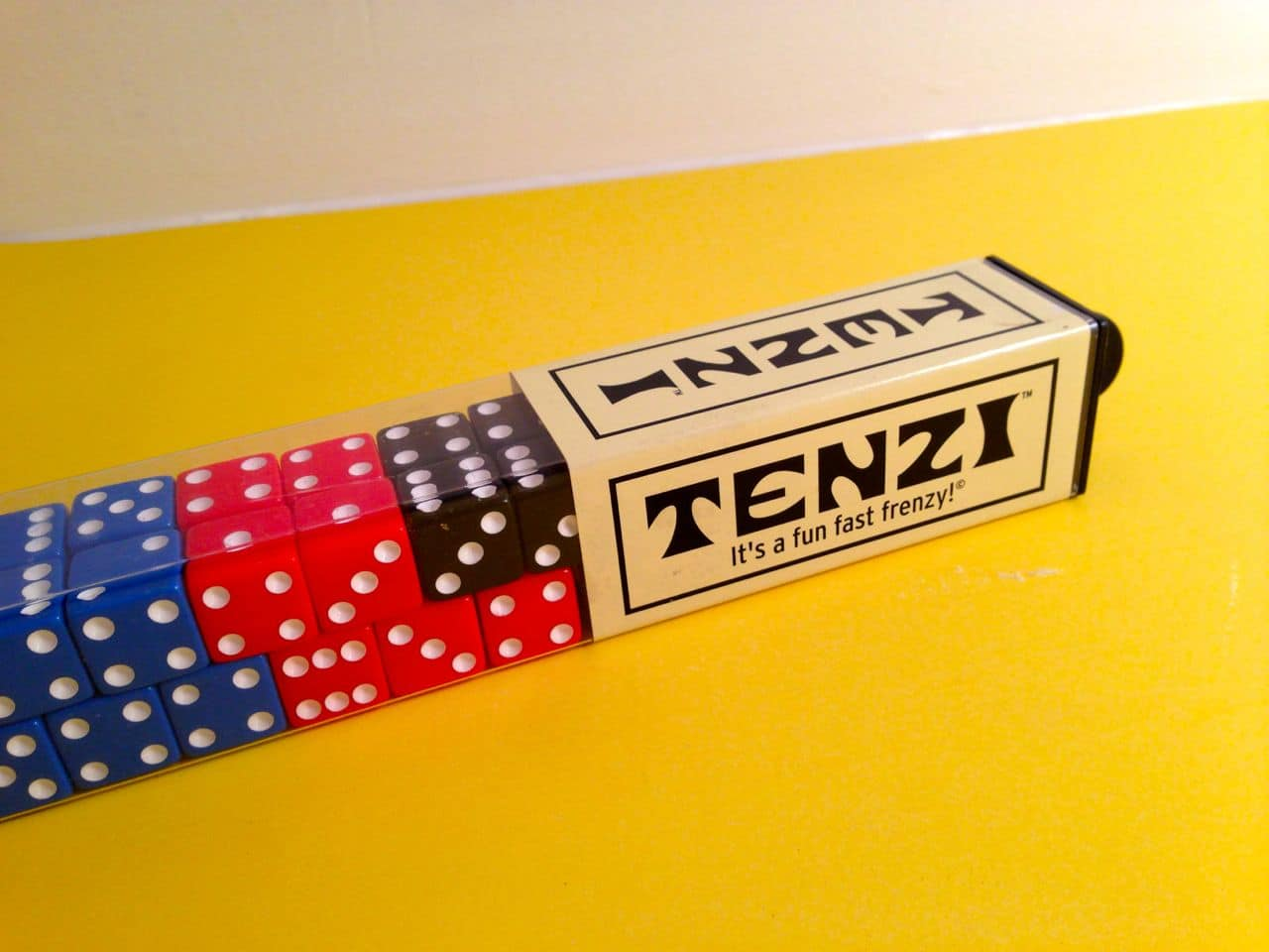graphic about Printable Tenzi Cards called Tenzi Cube Video game - GoodStuffAtHome