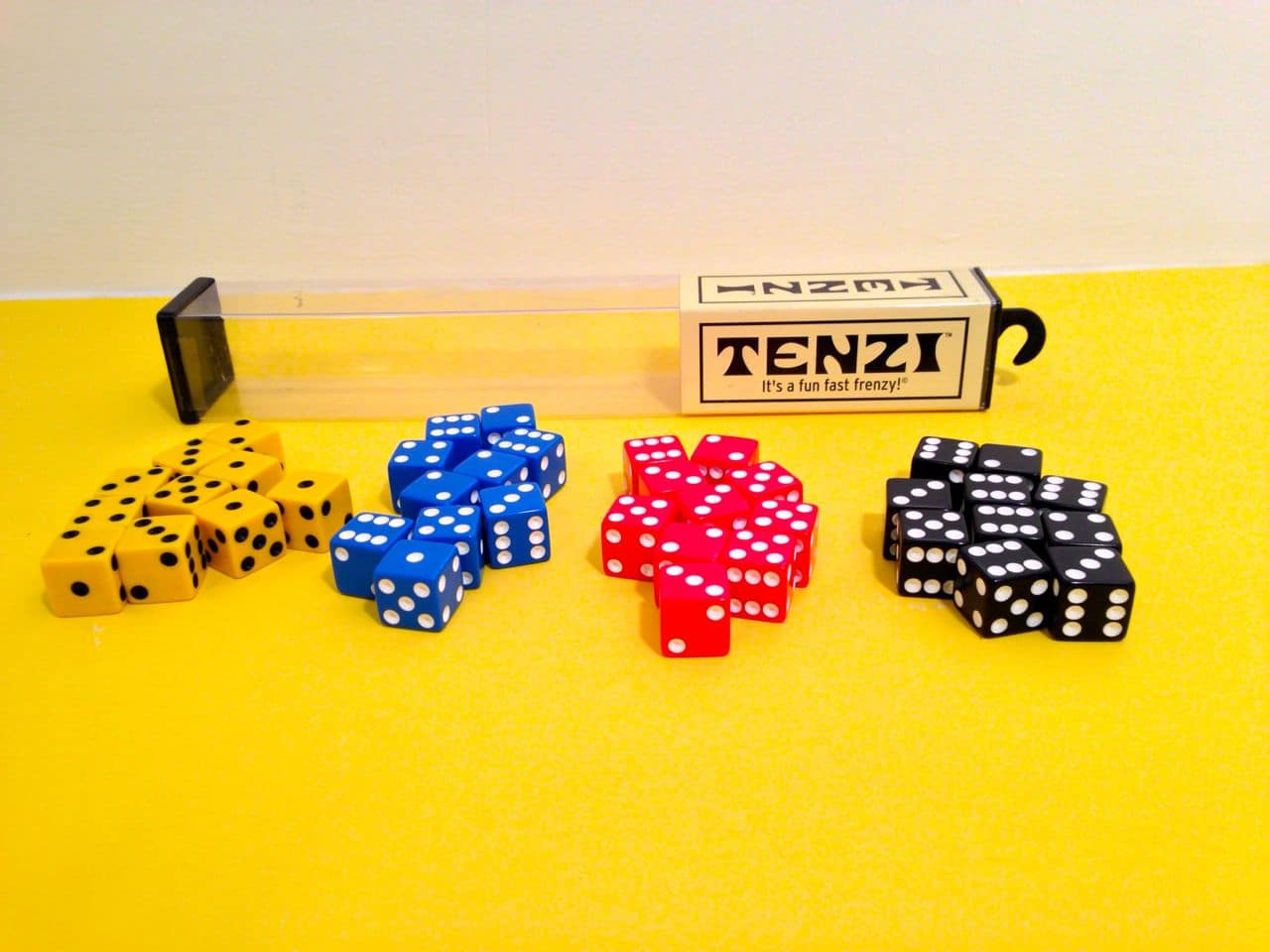 picture relating to Printable Tenzi Cards called Tenzi Cube Recreation - GoodStuffAtHome