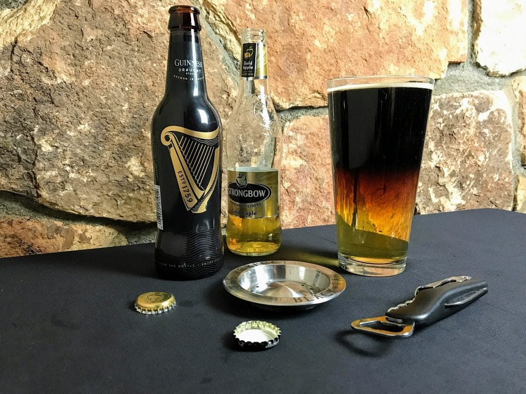 snake bite drink perfect black and tan