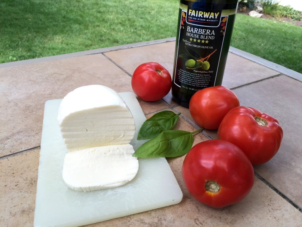 fresh mozzarella & tomato