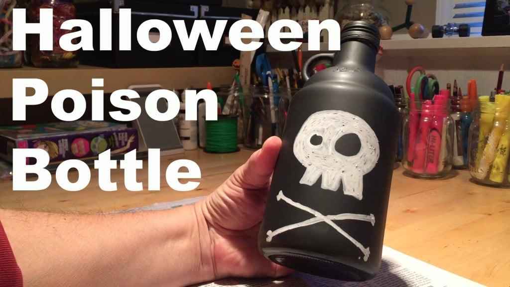 Halloween Poison Bottle
