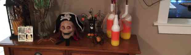 Candy Corn Bottles