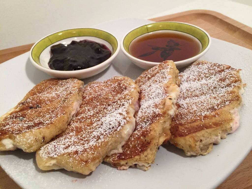french toast sticks panini