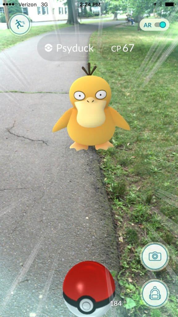 Pokemon Go Psyduck