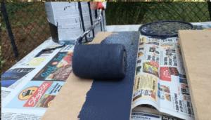 Building Kick Plates - Paint