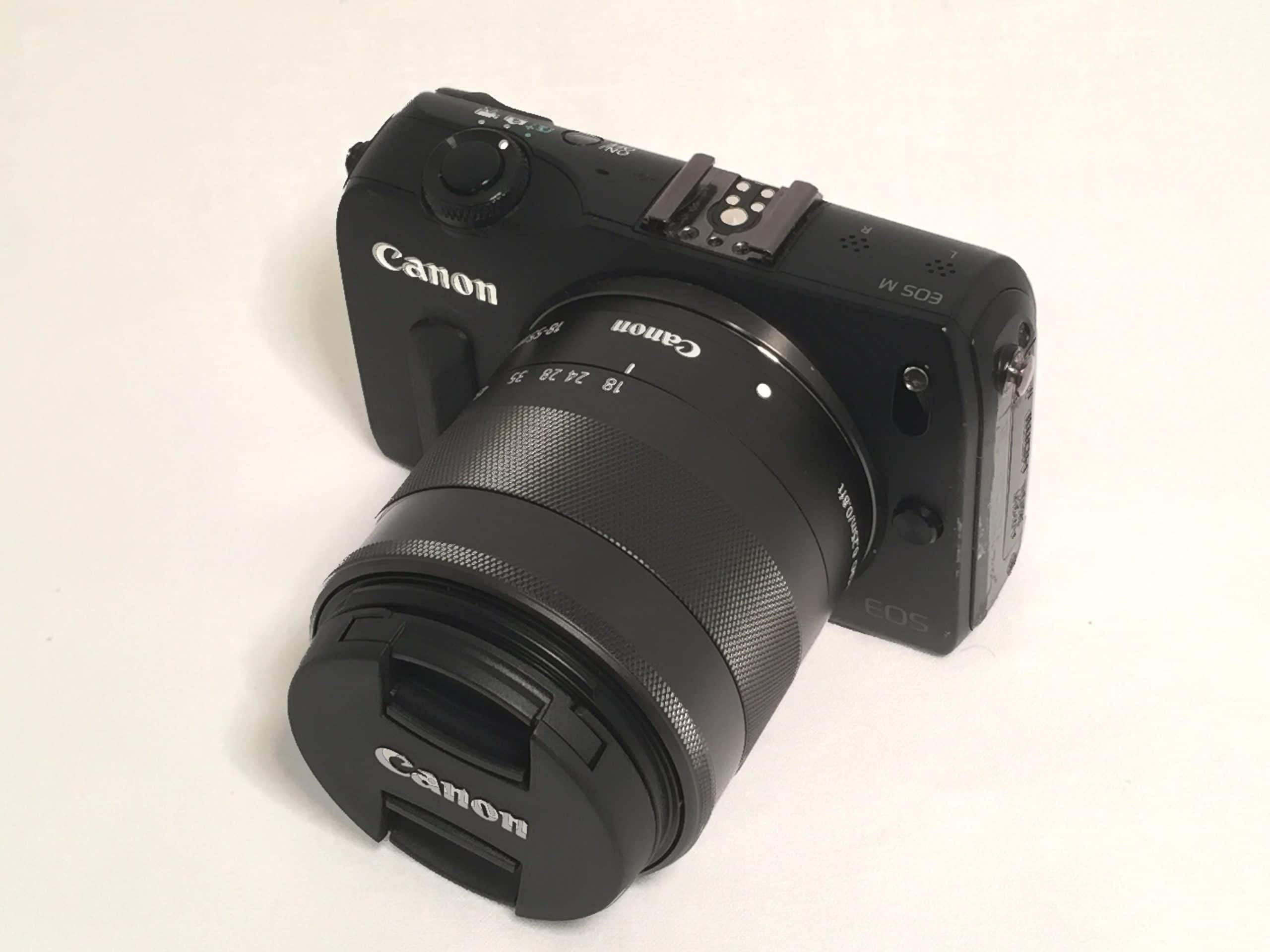 Canon EOS-M front
