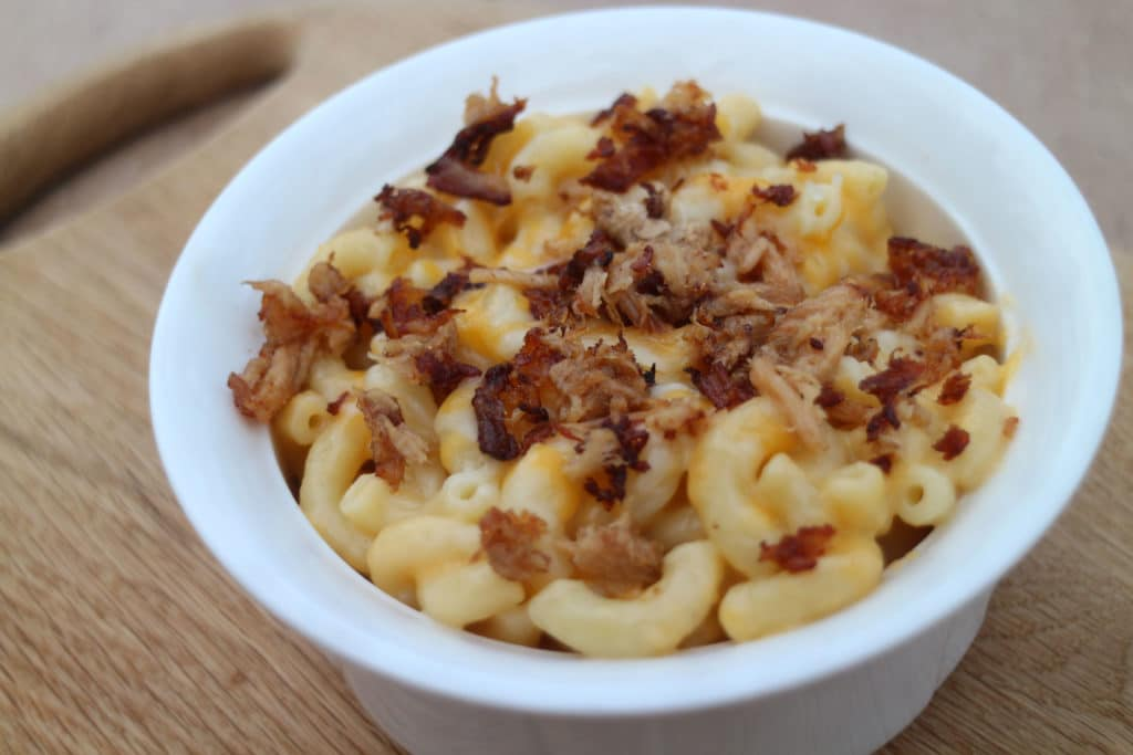 Pulled Pork Mac & Cheese - Leftover Pulled Pork Recipes