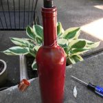 DIY Wine Bottle Tiki Torch