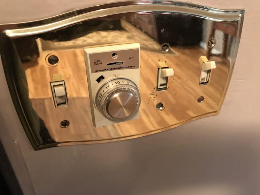 4 Gang Switch Plate