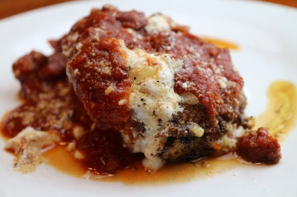 eggplant rollatini low carb