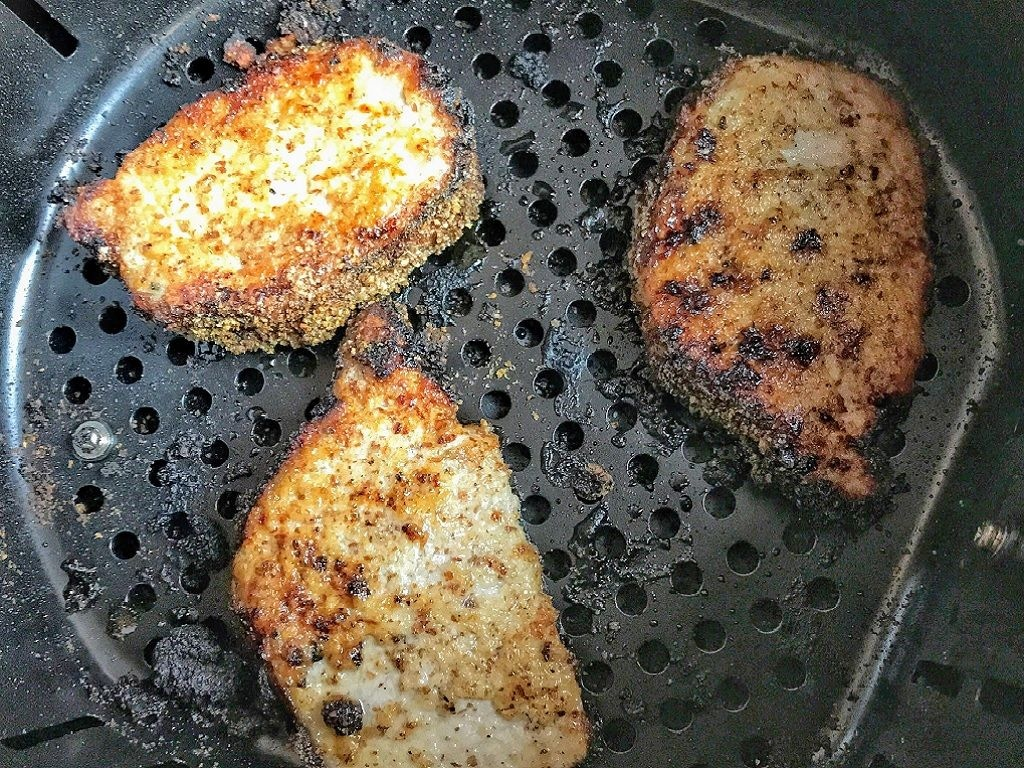 low carb pork chop air fryer