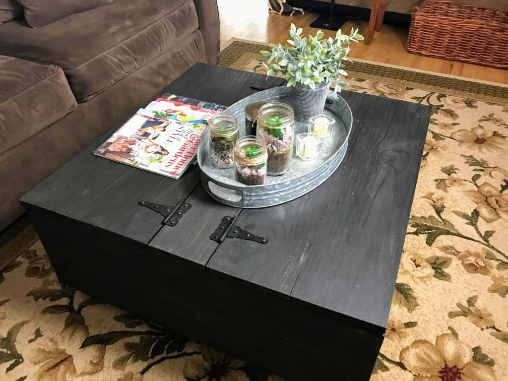 Diy Coffee Table With Storage Goodstuffathome