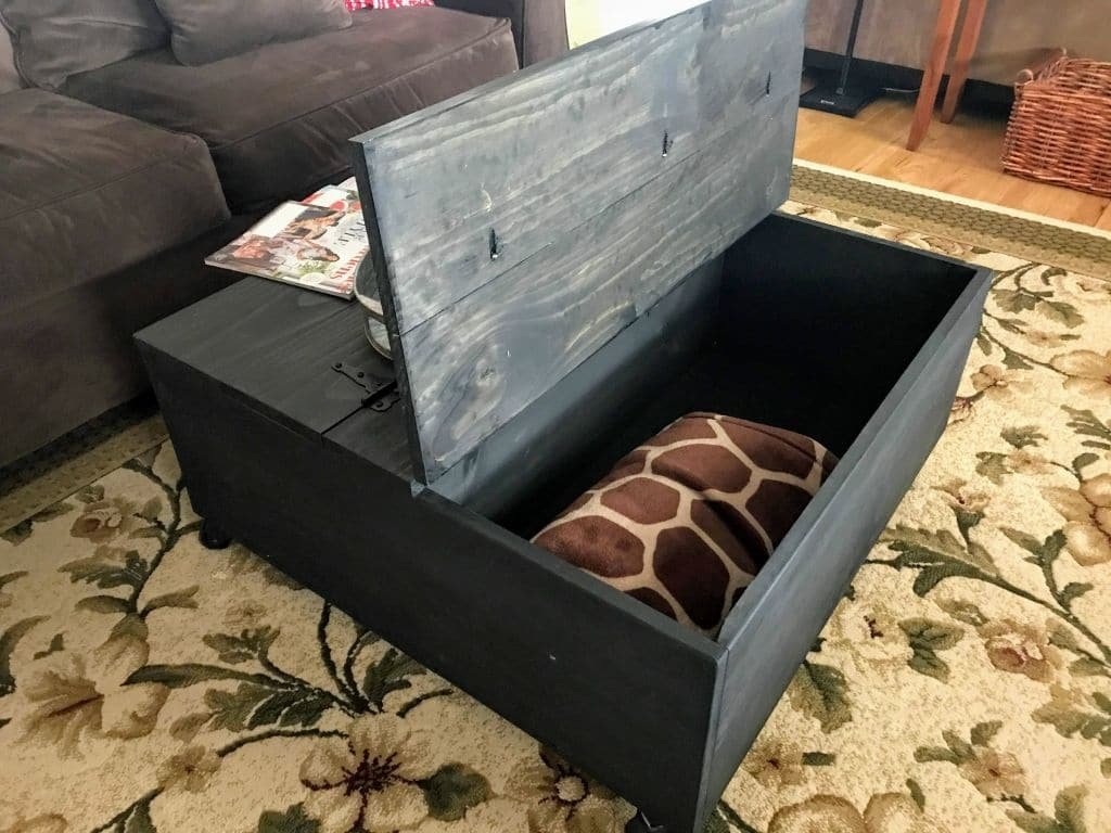 DIY Coffee Table With Storage - GoodStuffAtHome