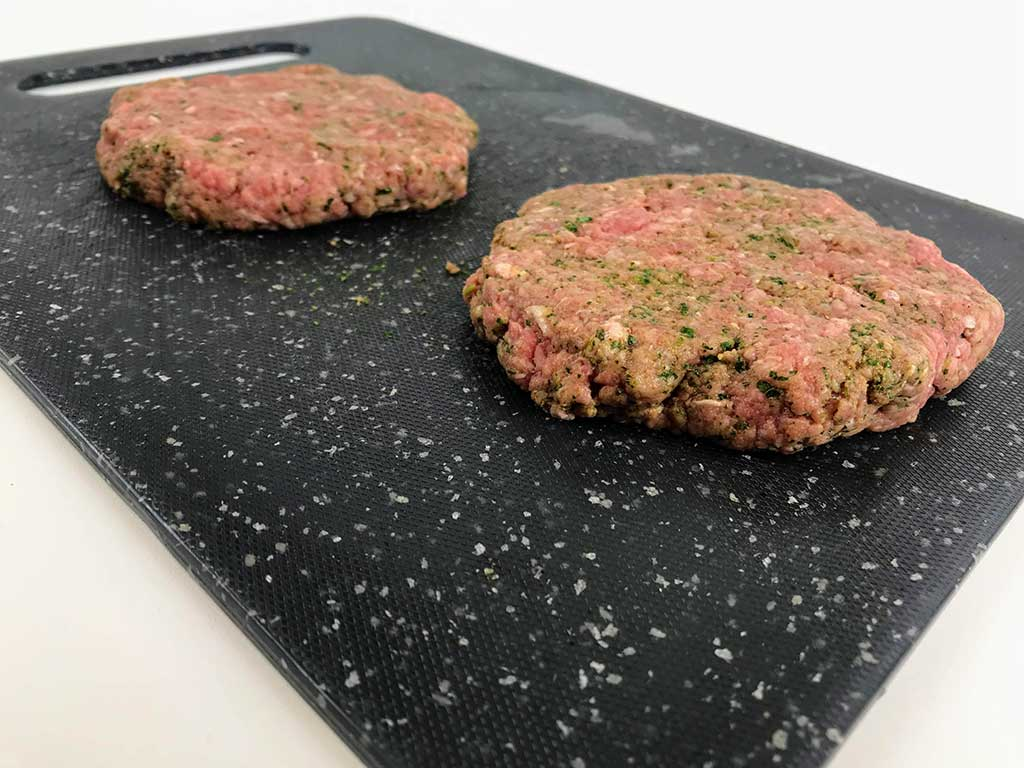 fajita burger patties